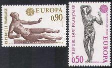France 1974 Europa/Statues/Art/Sculpture/History/Heritage/Rodin 2v set (n32157)