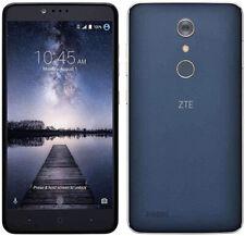 ZTE ZMAX Pro Z981 32GB Blue Unlocked T-Mobile Metro PCS 4G LTE Smartphone GREAT