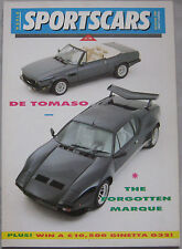 World SportsCars 5-6/1989 featuring De Tomaso, Ford GT40, RS200, Brabus, Toyota