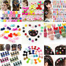 Baby Kids Girls 30pcs Mixed Styles Assorted Hairpins Mini Claw Hair Clips Clamp