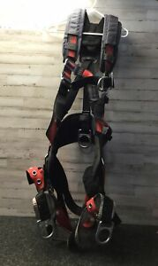 Used MSA Evotech Vest Style Body Harness, RFID Enabled, SXL, Super XL