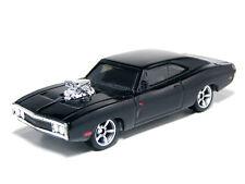 MATTEL 1:60 Fast & Furious Dodge Charger R/T 1970 Black Diecast Miniature Car