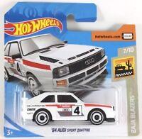 Hot Wheels AUDI Sport Quattro, Diecast Cars, Toy Cars 1:64,