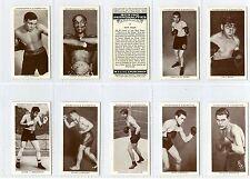 Full Set, Churchman, Boxing Personalities EX 1938 (Gy075-162)
