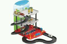 Dede boys girls kids Garage Play set Includes 2 Die Cast Cars gift
