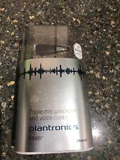 Plantronics Savor M1100 Bluetooth 3 Synchronized Microphones EarHook Headset New