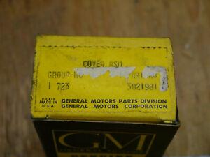 NOS Oil Pump Cover SBC small journal 327 283 Chevy Chevelle Nova C10 Corvette