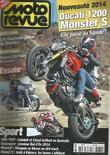 MOTO REVUE N°3974 DUCATI 1200 MONSTER S / TRIUMPH THUNDERBIRD LT / HONDA CTX 700