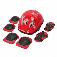 7Pcs Elbow Wrist Knee Pads Helmet For Kids Child Skate Cycling Bike Safety Caps
