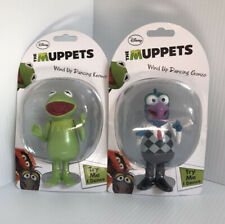 DISNEY THE MUPPETS WIND-UP DANCING KERMIT THE FROG & GONZO MUPPET SHOW NEW