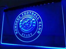 Glasgow Rangers Football Club RFC LED Neon Light Bar Bedroom Sign Gift 30x20cm