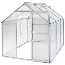 Invernadero de jardín con ventana policarbonato casero plantas cultivos 5,7m³ NU
