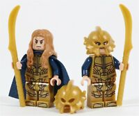 LEGO ELVES ELF ARMY MINIFIGURE PACK LOTR HELMS DEEP HOBBIT - MADE OF LEGO PARTS