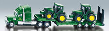 1837 SIKU FARMER Low Loader / John Deere Tractors 1:87 Die-Cast Metal Model