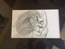 "Original Disney Production Drawing from ""The Lion King"" Mufasa"