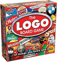 Drumond Park 1150 Logo Family Board Game of Brands & Products You Know & Love