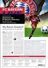 23.07.2000 Hannover 96 - FC Bayern Munich