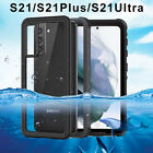 Waterproof Case For Samsung Galaxy S21 Plus Ultra Dustproof Screen Protect Cover