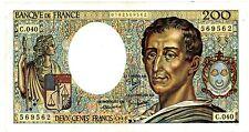 France ... P-155a ... 200 Francs ... 1986 ... *VF*