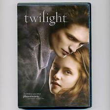 Twilight 2008 PG-13 romantic fantasy movie DVD Kristen Stewart, Robert Pattinson