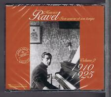 RAVEL 3 CDS SET NEW VOL 2 SON OEUVRE SON TEMPS 1910- 1925