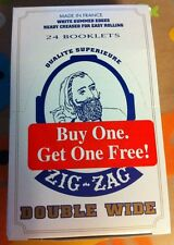 Zig Zag Double Wide rolling paper 24 Booklets