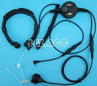 For Cobra Radio Military Throat Mic Headset/Earpiece CXR925 CXR950 CXT420 CXT425