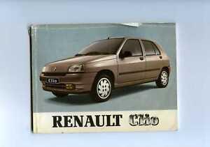 Renault Clio Owners Handbook.