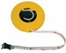 Stanley - 0 34 296 Mètre-ruban en Capsule Fibre de Verre 20 M X 12,7 mm Bande