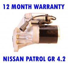 NISSAN PATROL GR 4.2 1988 1989 1990 1991 1992 - 1998 RMFD STARTER MOTOR