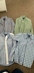 Boys Age 7 Ralph Lauren Shirt Bundle