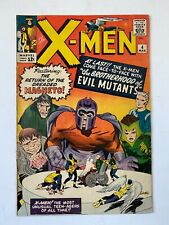 X-Men #4 (1964) 1st app. of Scarlet Witch, Quick Silver & Toad!KEY ISSUE!L@@K!