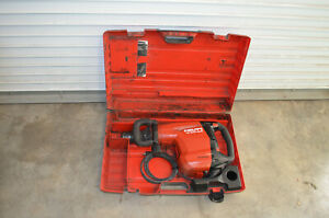 Hilti TE 800-AVR Electric Demolition Hammer Chiseling Breaker 120V