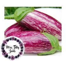 Aubergine LISTA DE GANDIA 10 frische Samen Exotisch Lecker schönste Sorte Gemüse