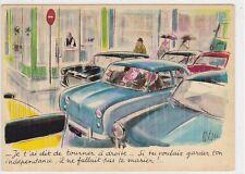 CP HUMOUR Illustrateur TETSU Ma chère voiture Edt YVON n42