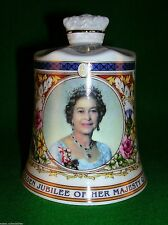 Aynsley Bone China Commemorative Bell - Golden Jubilee Perfect Condition