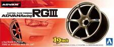 Aoshima Models 1/24 19inch Advan Racing RGIII Wheels & Tyres Set