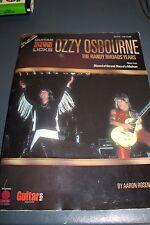 Ozzy Osbourne The Randy Rhoads Years Guitar Legendary Licks *No CD