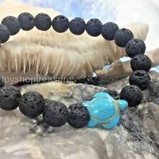 Aromatherapy diffuser Essential Oil Lava & Turtle Bracelet Healing Sea Turtle