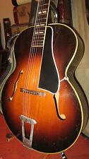 Vintage 1949 Gibson L-7 Archtop Acoustic Guitar Sunburst w/ Case Incredible!