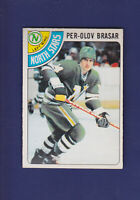 Per-Olov Brasar RC 1978-79 O-PEE-CHEE OPC Hockey #99 (EXMT+) North Stars