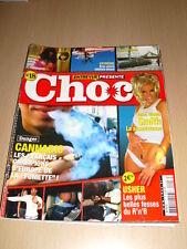 Entrevue Présente CHOC N°18 février 2005 Anna Nicole Smith Usher