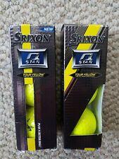 6 Srixon Q Star Tour Yellow Golf Balls W Box