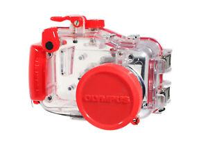 Olympus PT-024 Waterproof Camera Case for Olympus Camedia Cameras - Clean