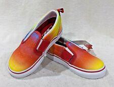 Vans Toddler Girl's Classic Slip On V Glitter Multicolor Shoes-Sz 5.5/7/9.5 NWB