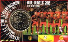 BELGIE - COINCARD 2,50 € 2018 - RODE DUIVELS