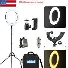 "448pcs 18"" 58W 3500Lm Dimmable Photography Photo Studio Led Ring Light withStand"