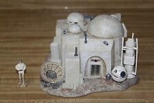 Star Wars Hawthorne Village Mos Eisley Cantine Galatic Collection 2009 Christmas