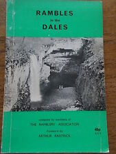 RAMBLES in the Dales by members of The Ramblers Association 1971 20 Walks & Maps