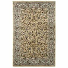 Beige Traditional Oriental Classic Design Rug Living Room Kitchen Floor Runner